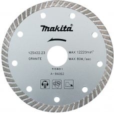 Makita A-84062 125mm diskas TURBO segmentas akmeniui/be...