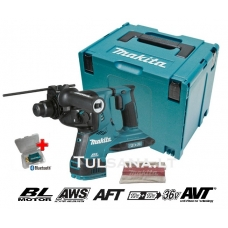 Makita DHR282ZJU 36V=2x18V AWS-Bluetooth, SDS-PLUS Akum...