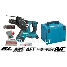 Makita DHR283ZJU 36V=2x18V AWS-Bluetooth, SDS-PLUS Akum...