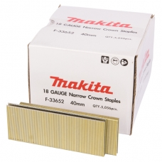 Makita F-33652 Kabės 6,3x40mm, 5000vnt. AT450H