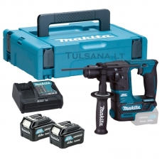 Makita HR166DSMJ 2x4,0Ah Akumuliatorinis perforatorius 10,8V, SDS+, LED,