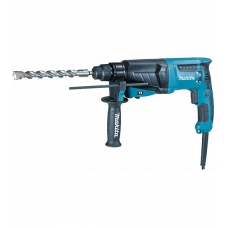 Makita HR2630J Su Makpac lagaminu perforatorius SDS-Plus 800W, 2,4J.